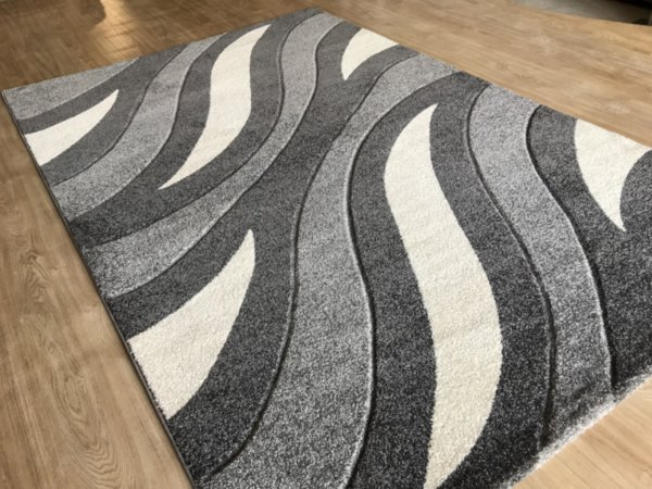 релефен килим съни   4785 сив
